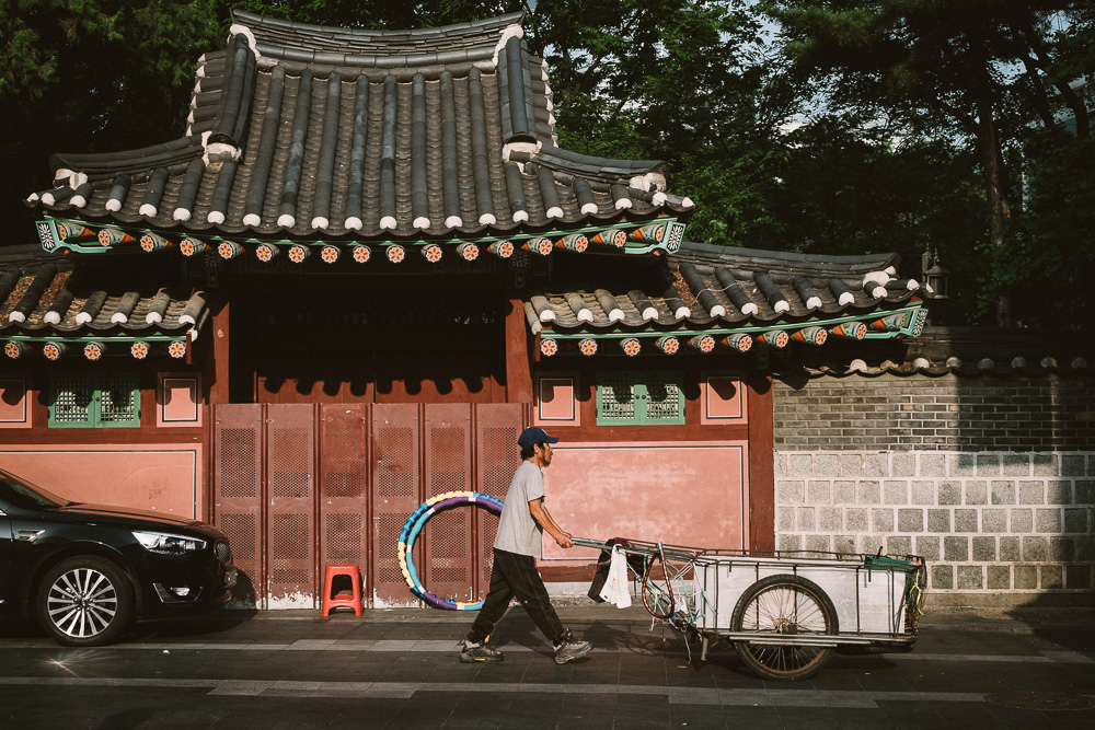 Photographer in Seoul