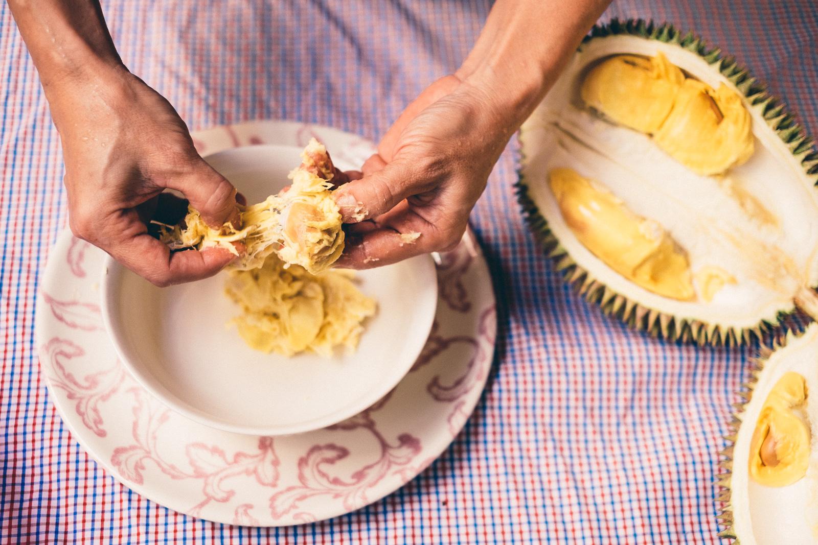 Durian Cakes - Penang Editorial Photographer
