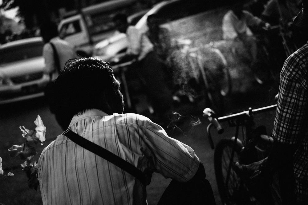 Trishaw Driver, Yangon Downtown, Myanmar - Photographer