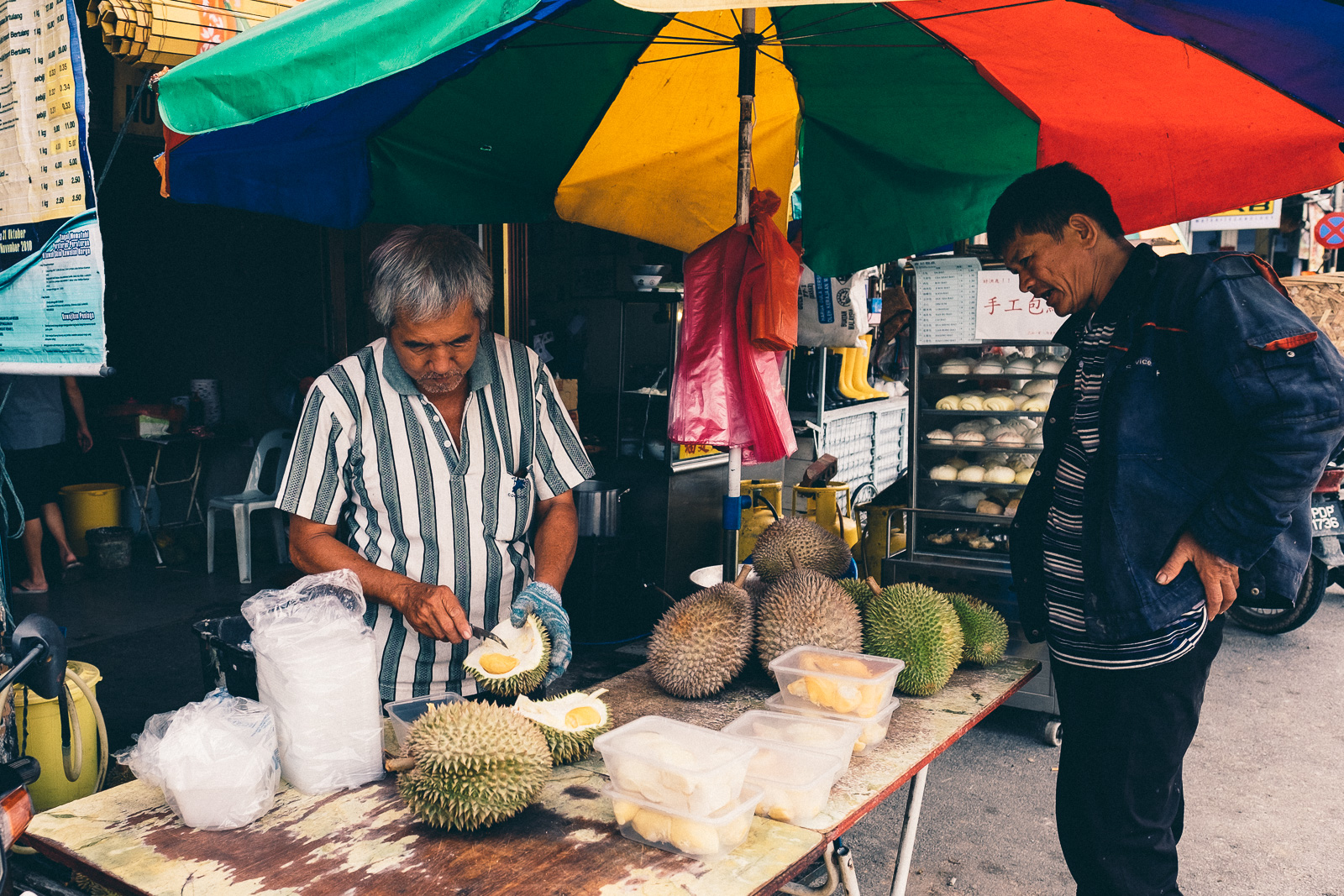 Durian Lunchbox - Penang Editorial Photographer