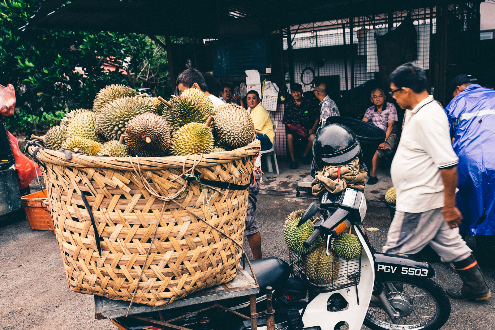 Wholesale Market - Penang Editorial Photographer