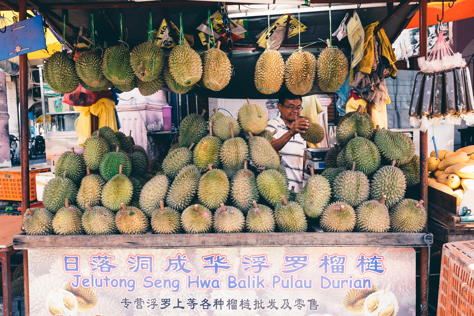 Market Stall - Penang Editorial Photographer