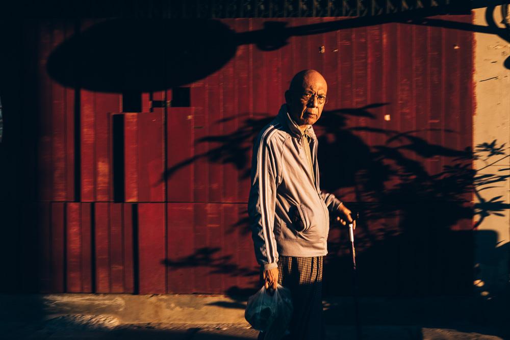 Shadows, Yangon Downtown, Myanmar - Photographer